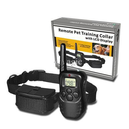For 2 Dogs Dog Remote Training Collar pet Anti Bark Stop Barking with retail box free shipping