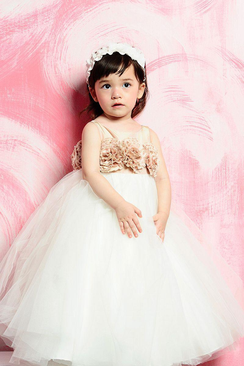 For 4 to 10 years old a line flower tulle white flower girl dress for 4 to 10 years old a line flower tulle white flower girl dress children bridesmaid dresses o11 dresses shop flower girl dresses ireland from ombrellifo Images