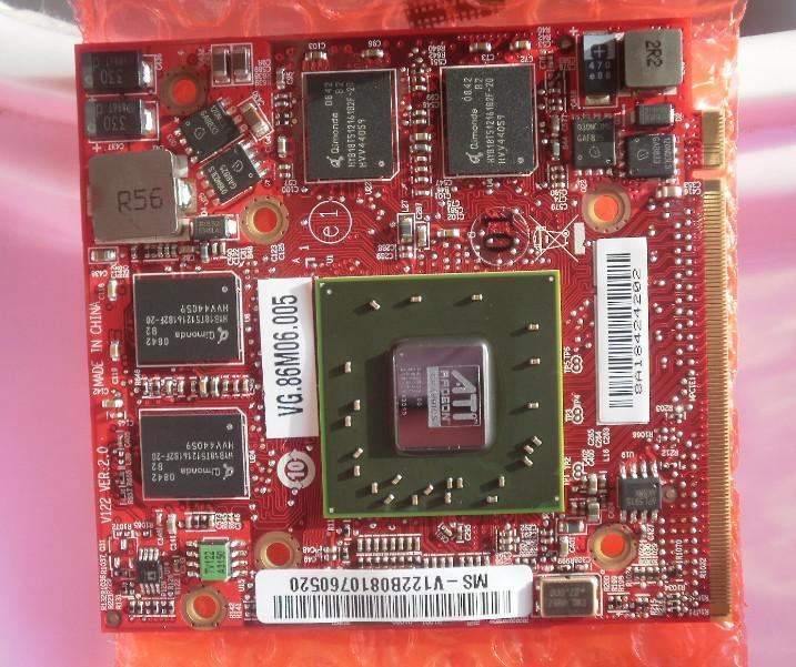 Orijinal dizüstü vga kartı ATI Mobility Radeon HD3650 512 m MXMII portu