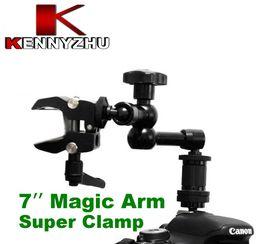 kamera schieberegler großhandel Rabatt DSLR Rig 7 '' artikulierender magischer Arm + kleine Superklemme 1/4 '' 3/8 '' für DSLR-Kamera LED-Licht-LCD-Feldmonitor
