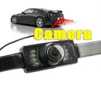 cámaras de estacionamiento inalámbricas para autos. al por mayor-Resolución de visión nocturna de la cámara de reserva de la cámara de vista trasera del coche de 2.4G inalámbrico: 380 líneas de TV