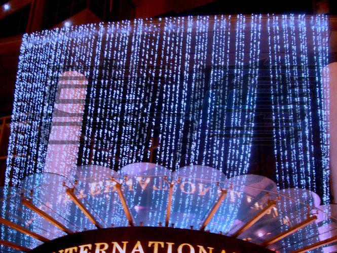 Luci tende 1024 Luci a LED Lampadine 8m * 4m, Impermeabile Ornamento natalizio, Flash Colorato Fata luci natalizie Lampade a strisce a LED