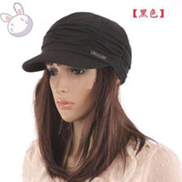 Wholesale Womens Cotton Winter Hats - Womens lady hat hats cap caps Womens Accessories Slouchy Beanie fashion hat 20pcs lot Women hats