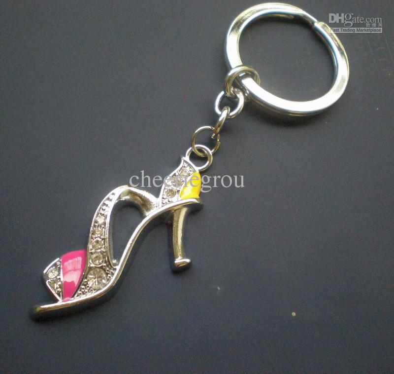 Varmt sälja nyckelring mode nyckelring Zinc Alloy Keychain med sko charm, / gratis express leverans CK0051