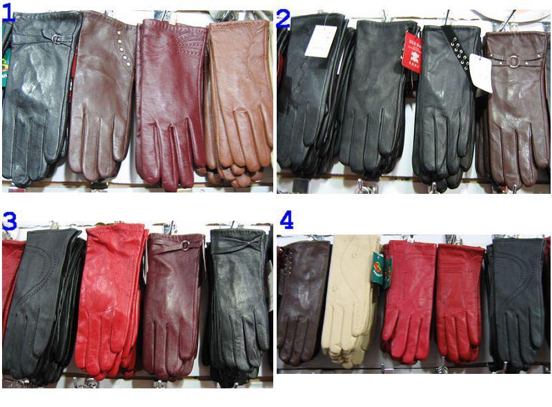 가죽 장갑 대형 도매 새로운 디자인 Women'Gloves 남성 장갑