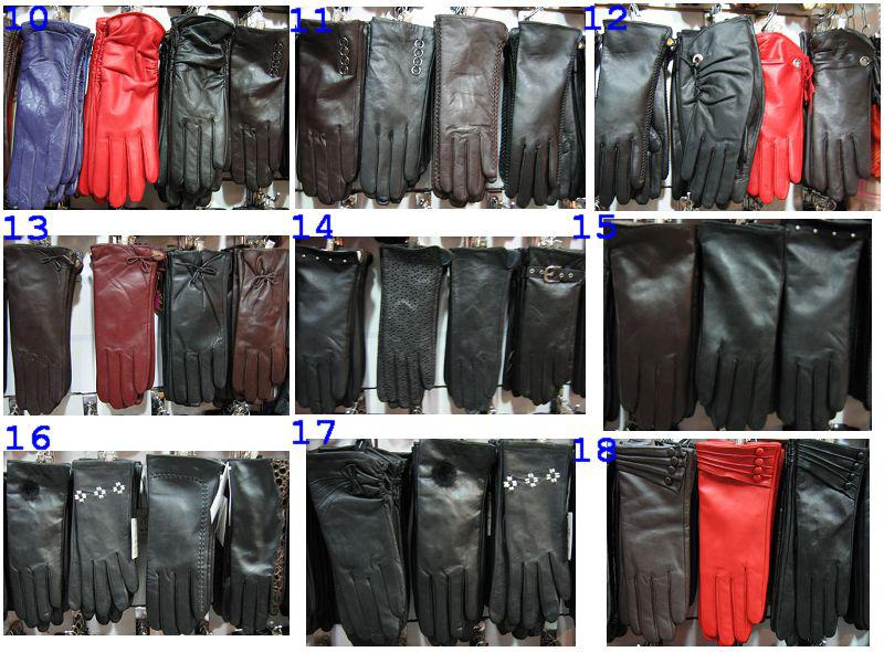 Кожаные перчатки большой оптовый новый дизайн женские перчатки мужские перчатки