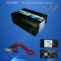 Wholesale 24v Power Inverter Pure Sine - Free Shipping 300W Pure Sine Wave Power Inverter, DC 24v to AC 230v, Power Invertor