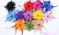 BELLY DANCE HAIR CLIP HEADBAND HEADDRESS COSTUME Per favore scegli Colore Belly Dance Flower Belly Dance Accessory