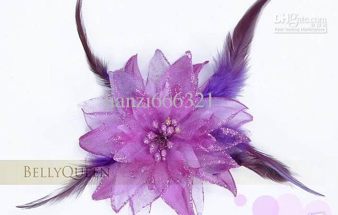Танец живота зажим для волос оголовье головной убор костюм Пожалуйста, выберите цвет танец живота цветок танец живота аксессуар