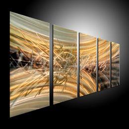 $enCountryForm.capitalKeyWord Canada - Metal Wall Art Abstract Contemporary Sculpture Home Decor Modern Huge Explosion 111037B