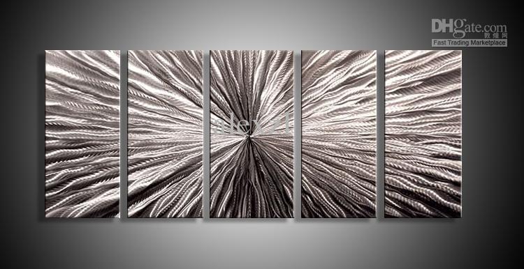 Metallwand-Kunst-abstrakte zeitgenössische Skulptur-Ausgangsdekor-moderne enorme Explosion 111060B Metallwand