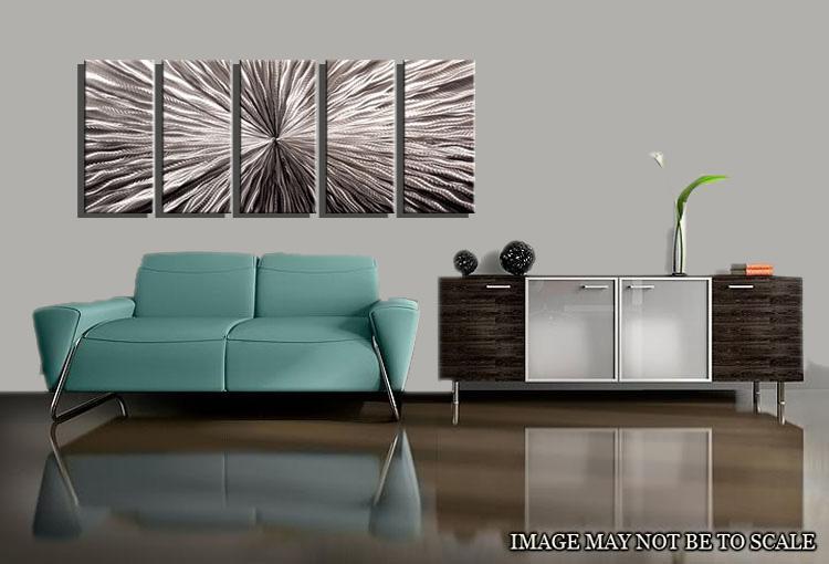 Металлическая стена Искусство Абстрактная современная скульптура Домашний декор Современный Огромный Взрыв 111060B металлическая стена