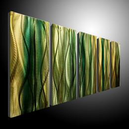 $enCountryForm.capitalKeyWord Canada - Metal Wall Art Abstract Contemporary Sculpture Home Decor Modern Huge Explosion 111070B metal wall
