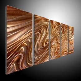 $enCountryForm.capitalKeyWord Canada - Metal Wall Art Abstract Contemporary Sculpture Home Decor Modern Huge Explosion 111080B metal wall