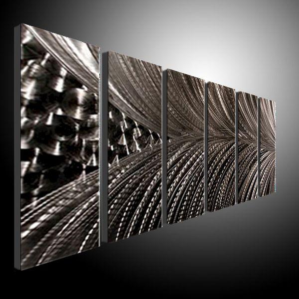 783106218b Metal Wall Art Abstract Contemporary Sculpture Home Decor Modern Huge  Explosion 111090B metal wall