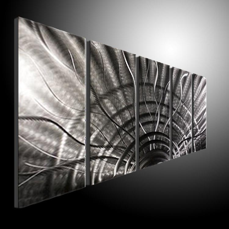 Buy Metal Wall Art Entrancing Metal Wall Art Abstract Contemporary Sculpture Home Decor Modern Decorating Design