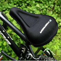 Wholesale Bike Seat Gel Cover - Hot New Bike Bicycle Soft Gel Saddle Seat Cover Cushion Mda&GIANT Bike Saddles Bicycle Parts