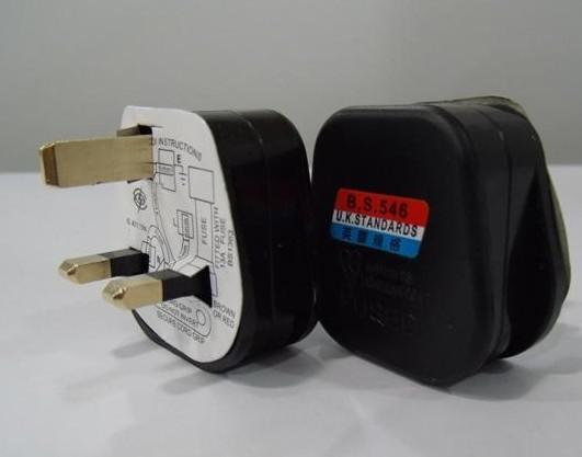 Оптовая 13А Великобритания plug BS проводки вилки BSI 20 шт./лот