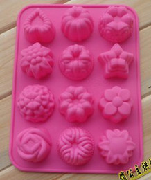 Discount muffins decorations - 10Pcs re-useable Silicone animals cake mold muffin cupcake mould  cake decoration