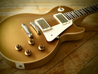 Wholesale Electric Guitar Goldtop - Custom Standard Goldtop Electric Guitar vos guitars from china Free shipping