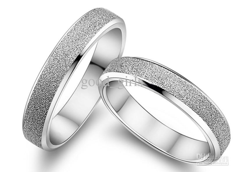 Wedding rings silver  2017 2014 Fashion Wedding Rings Silver Ring Couple Rings Christmas ...