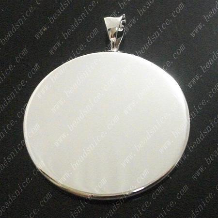 Koraliki Baza wisiorek Pusta Bezel Cabochon Ustawienie dla Twoja biżuteria Wyposażony w 22mm Okrągły Hole Cabochon 3x5mm ID10820