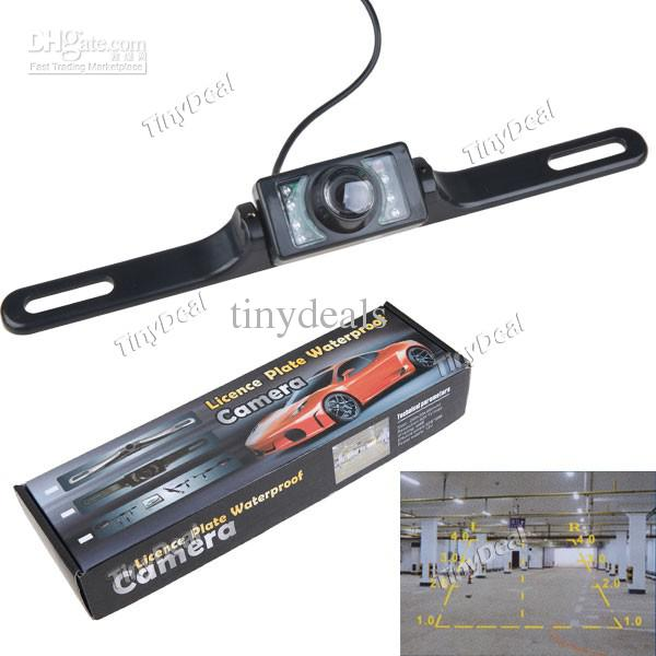 License Plate Camera >> 2018 Car License Plate Waterproof Rearview Camera Reverse Camera
