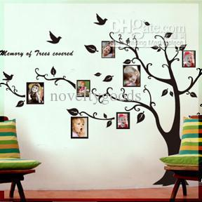 Decorative Wall Sticker Art Wall Sticker Photo Tree Vinyl Wall - Wall stickers art
