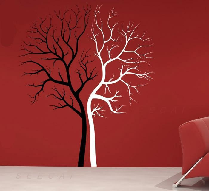 Tree Lovers Decorative Wall Sticker Art Wall Sticker Full Wall - Wall stickers art