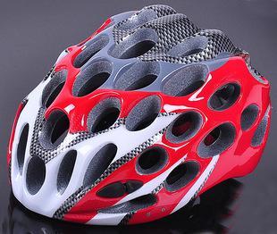 サイクリングセルラーヘルメット41穴統合超軽量レーシング自転車ヘルメットバイク