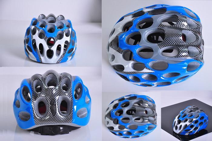 Задействуя Клетчатый Шлем 41 Отверстие Интегрированный Ультралайт Участвуя В Гонке Шлем Велосипеда