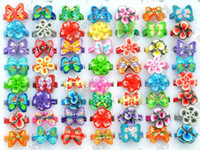 Wholesale Nice Colorful Jewelry - Brand New Nice Flower Rings Colorful Rings wholesale 30pcs Lot multicolor Polymer Clay rings Jewelry [PR15*30]