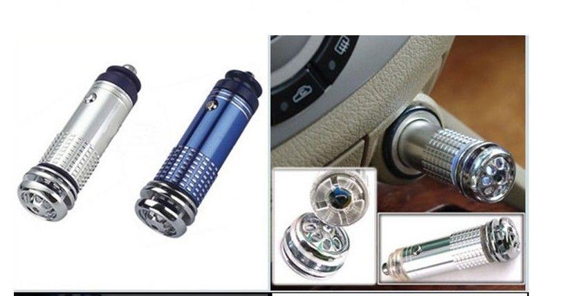 New Mini Car Auto Fresh Air Purifier Oxygen Bar Ionizer Cleaner 12V