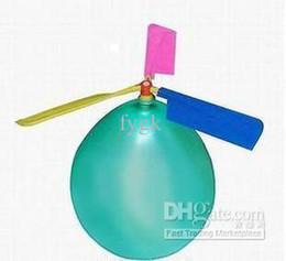 2019 nouveauté jouet grossistes Article de nouveauté: Hélicoptère de ballon / jouet gonflable de ballon / jouet d'enfants / jouet d'enfant de ballon auto-combiné