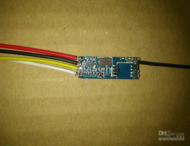 Trasmettitore radio mini 2.4GHz 100mW mini modulo di trasmissione audio video senza fili