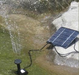 Wholesale Solar Power Fountain Water Pump - Hot Sell ! Pool Water Pump Garden Plants Watering Kit Solar Power Fountain Soar Pump Water Pump, Fre