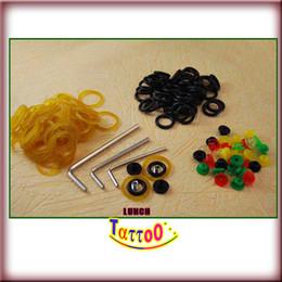 Um Tattoo Ajustar Ferramentas 50 Grommets / O-rings / Rubber-Band Supply de