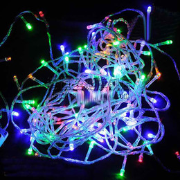 christmas tree decorations lighting88m color led christmas lights 100 lamp with controller