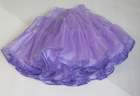 Wholesale Skirts Formal Dance - HOt Sale NEW 50'S ROCK SQUARE DANCING PETTICOAT   SKIRT PURPLE COLOR FREE SHIPPING