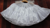 square dance dress - Women s Skirt Dancing Petticoat s Square Petticoats Skirt Nylon dresses Girl s Dancing Skirts White Color