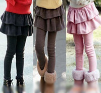 Wholesale B2w2 Girl - B2W2 Girl Leggings Tights with Skirts,Children's skirt Tiered skirts tights,skirt-pants for kids