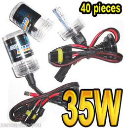 Discount hb4 hid conversion kit - 40 PAIRS 35W HID XENON SPARE REPLACEMENT BULBS LAMPS LIGHTS H1 H3 H3 H7 9004 5(HB1 HB3) 9006 7(HB4 5
