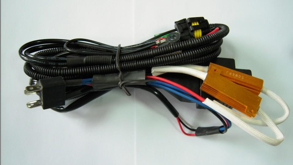 100 sztuk HID Xenon Gold Bezpiecznik 50W Błąd drutu Canbus Ostrzeżenie Dekoder CanCeller H1 H3 H3 H7 H9 9004/5/7