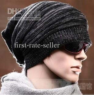 Top Quality Fashion Winter Men Hats Beanie Hat Knitted Caps Men s Beanies  Berets Hats  1014 Baby Boy Hats Black Baseball Cap From First Rate Seller d3e4987b30e