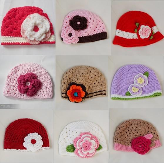 Unique Pure HANDMADE Children s Crochet Beanies Cap Hats 110b683b2c5