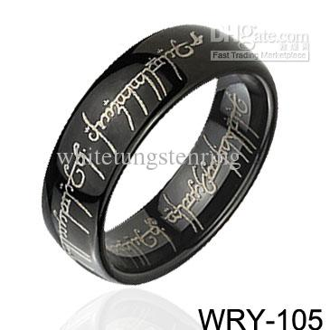 wedding bands for men Dome Black Magic Tungsten Rings engagement Rings gold rings