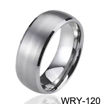 Carbide Tungsten Ringar Eternity Bröllopsband för män Förlovningsringar Mode Smycken