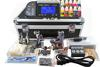 2 Damascus steel Tattoos Kits Machines Guns Best Power Supply 40 colors Ink Professional Tattoo Kit