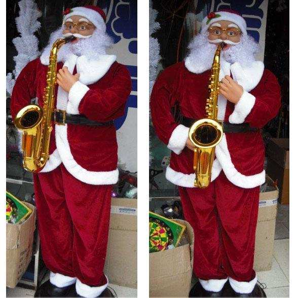 1 8m 6 Electric Santa Claus Dancing Music Electrical Toy