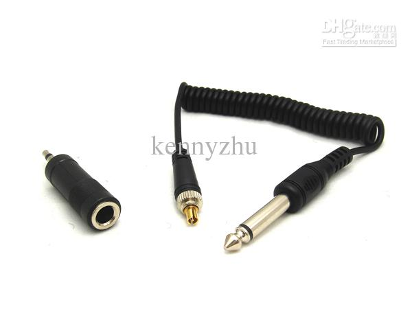 Yongnuo RF-to 3.5mm 6.35mm Flash Sync Cable Cord With Screw Lock For Studio Strobe Light